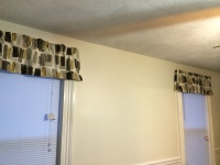 Valances Side View