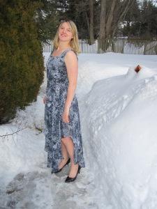 Sheer dress 1