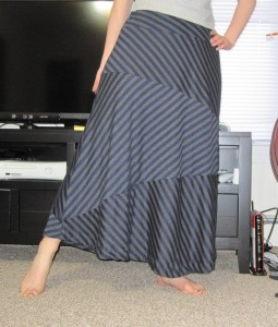 Striped skirt take 1