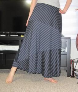 Striped skirt take 1