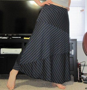 striped skirt take 2