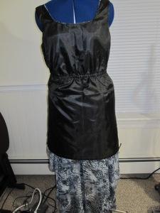 Guts of sheer dress