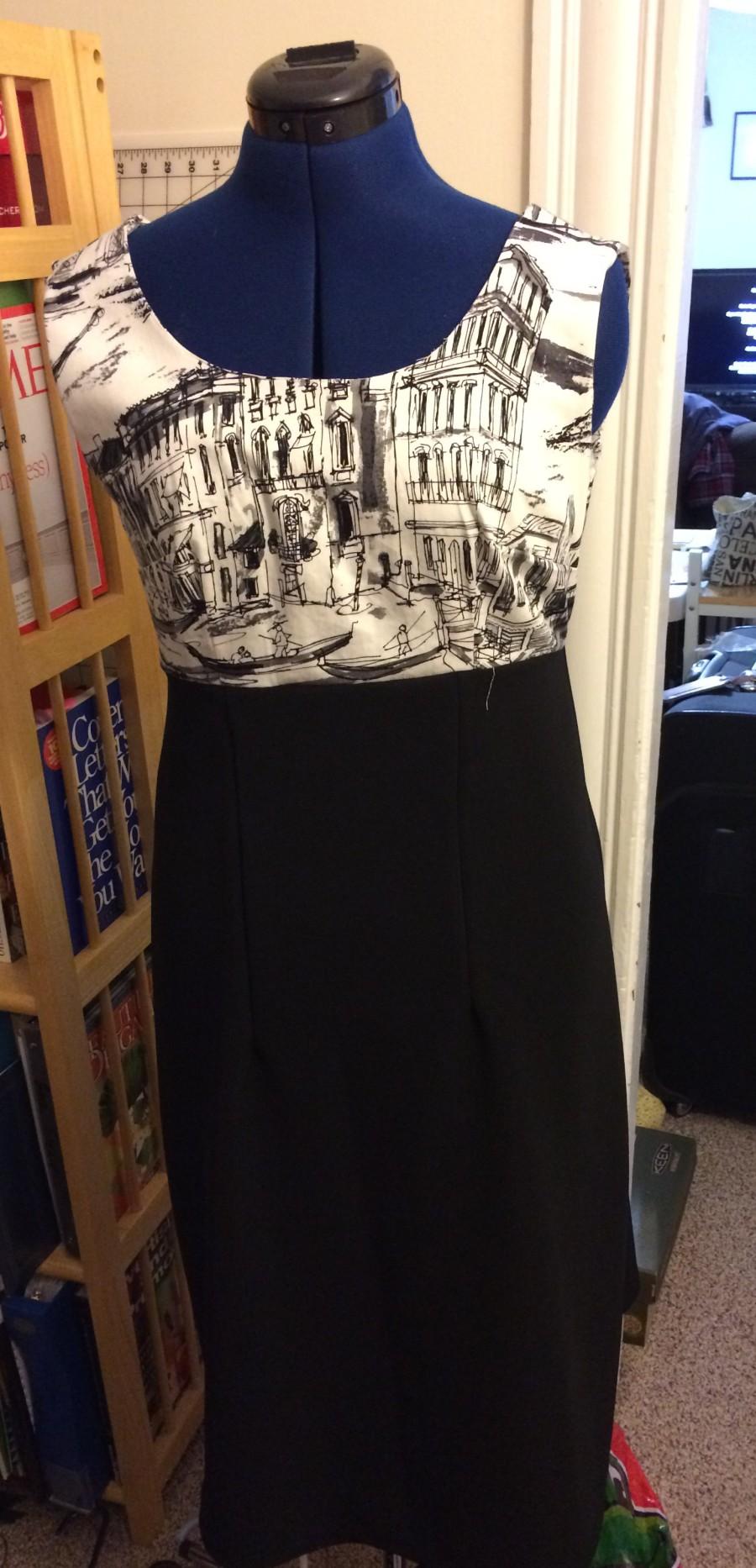 Venice Dress on dummy