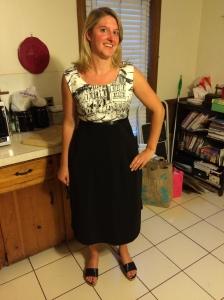 Finished Venice Dress