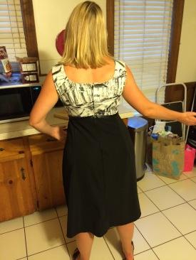 Back venice dress