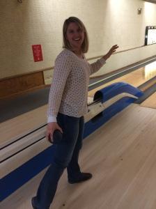 bowling in shirt