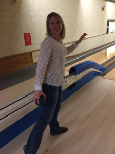 bowling in shirt