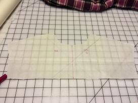 Yoke pattern piece