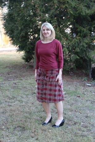 70s style skirt
